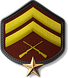 10 - Corporal 1 Star (C2)
