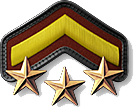 4 - Private First Class 3 Stars (PV4)